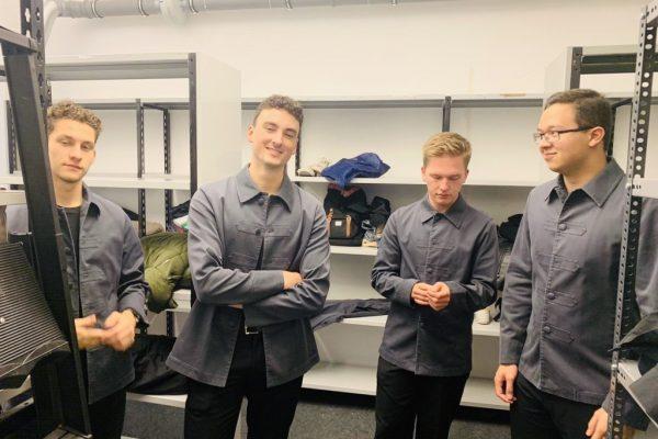 Job: Prada-Store Eröffnung